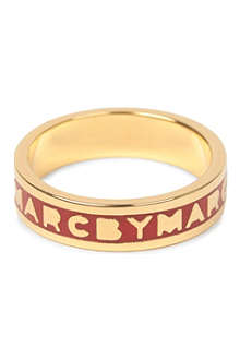 MARC BY MARC JACOBS Classic logo ring