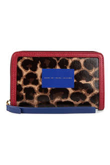 MARC BY MARC JACOBS Leo Wingman coated-cotton wallet