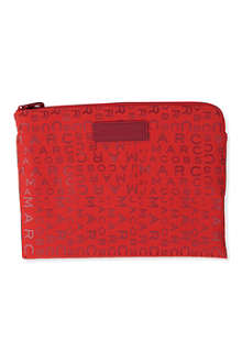 MARC BY MARC JACOBS Jumbled logo tablet case