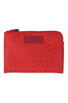 MARC BY MARC JACOBS Jumbled logo mini-tablet case