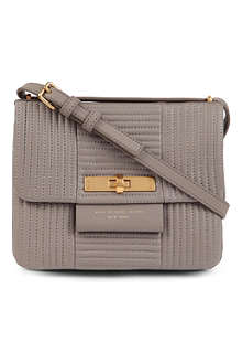 MARC BY MARC JACOBS East End Qu Miss Bliz quilted leather messenger bag