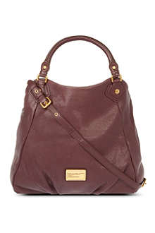 MARC BY MARC JACOBS Classic Q Francesca leather shoulder bag