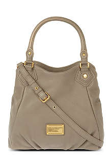 MARC BY MARC JACOBS Classic Q Fran leather hobo