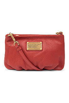 MARC BY MARC JACOBS Classic Q Percy leather shoulder bag