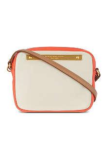 MARC BY MARC JACOBS Goodbye Columbus leather cross-body bag