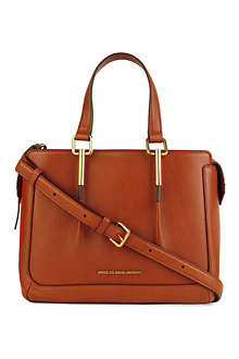 MARC BY MARC JACOBS Get a Grip leather satchel