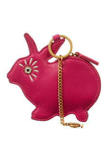 MARC BY MARC JACOBS Rabbit leather coin purse