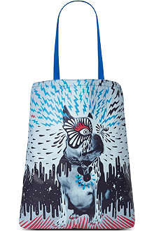 MARC BY MARC JACOBS Animal Graphic Olives shopper