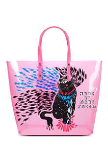 MARC BY MARC JACOBS Clear animal tote