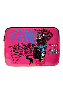 MARC BY MARC JACOBS Animal coated laptop case