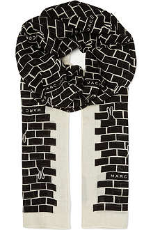 MARC BY MARC JACOBS Brick Bunnies scarf