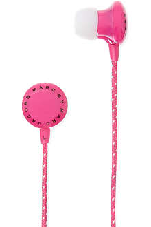 MARC BY MARC JACOBS Plastic housed earbuds