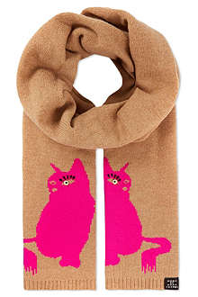 MARC BY MARC JACOBS Cat scarf
