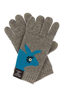MARC BY MARC JACOBS Tech-sensitive rabbit gloves
