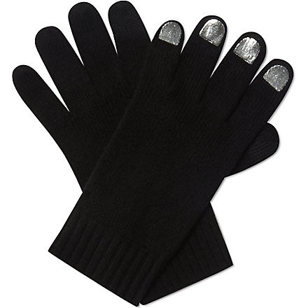 MARC BY MARC JACOBS Touch screen wool gloves (Black