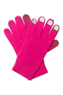 MARC BY MARC JACOBS Touch screen wool gloves