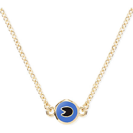 MARC BY MARC JACOBS Dynamite tiny necklace (Foxglove blue (oro)