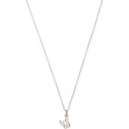 MARC BY MARC JACOBS Dynamite dog necklace (Argento
