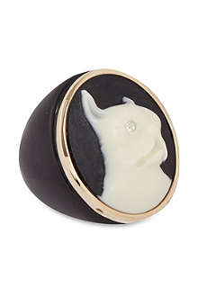 MARC BY MARC JACOBS Cameo animals ring