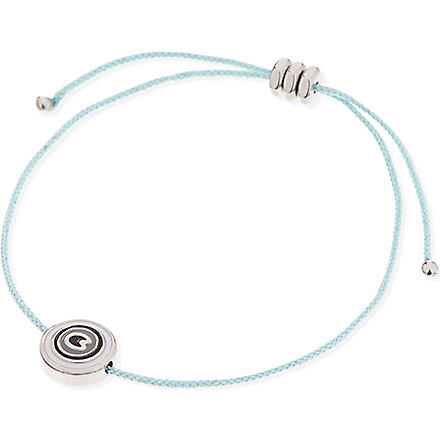 MARC BY MARC JACOBS Eye friendship bracelet (Aqua lagoon (argento)