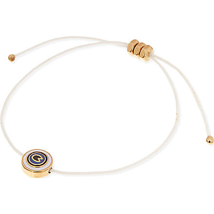 MARC BY MARC JACOBS Eye friendship bracelet (Cream (oro)