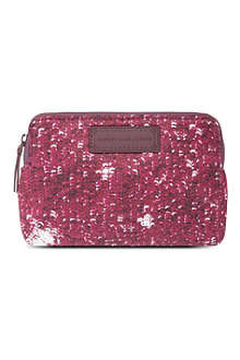 MARC BY MARC JACOBS Sequin-print make-up case