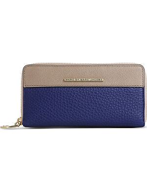 MARC BY MARC JACOBS Sheltered Island leather zip-around wallet