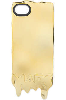 MARC BY MARC JACOBS Metallic melting iPhone 5 case