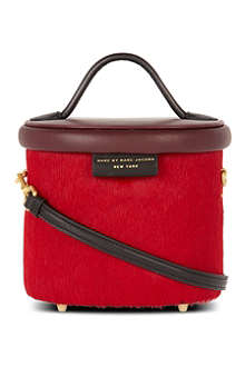 MARC BY MARC JACOBS Show Box Allegra calf hair tote