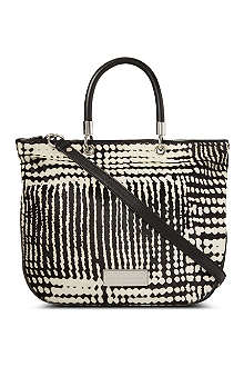 MARC BY MARC JACOBS Blurred dot mini tote