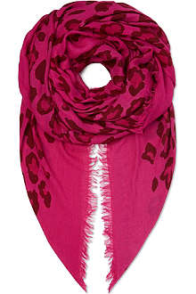MARC BY MARC JACOBS Sasha modal and cashmere-blend scarf