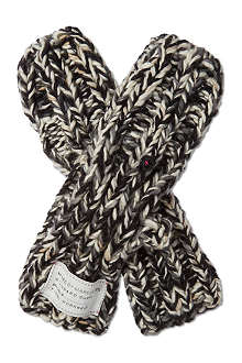 MARC BY MARC JACOBS Cable-knit wool mittens