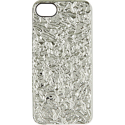 MARC BY MARC JACOBS Foil iPhone case (Silver