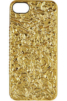 MARC BY MARC JACOBS Gold foil iPhone case