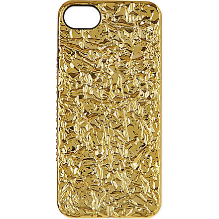 MARC BY MARC JACOBS Gold foil iPhone case (Gold