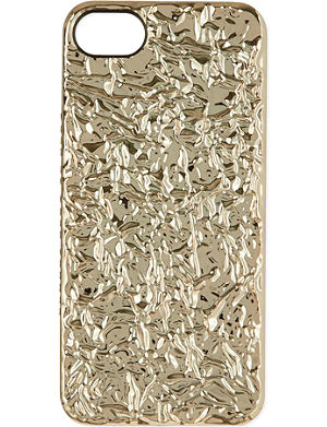 MARC BY MARC JACOBS Rose gold foil iPhone case