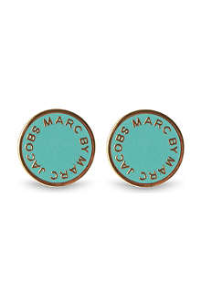 MARC BY MARC JACOBS Classic logo disc stud