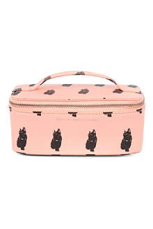 MARC BY MARC JACOBS Cat print cosmetics case