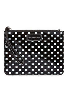 MARC BY MARC JACOBS Techno print pouchette