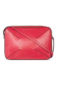 MARC BY MARC JACOBS Hands off leather cross-body bag