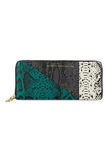 MARC BY MARC JACOBS Snakeskin pattern leather purse
