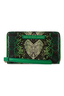 MARC BY MARC JACOBS Snake Heart Mildred wallet