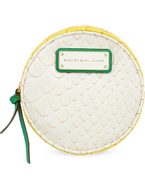 MARC BY MARC JACOBS Jellysnake Daniela round cosmetic bag