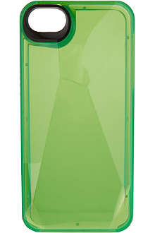 MARC BY MARC JACOBS Greenest green faceted iPhone case