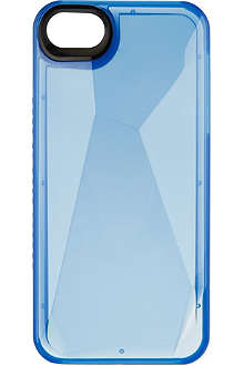 MARC BY MARC JACOBS Blue glow faceted iPhone case