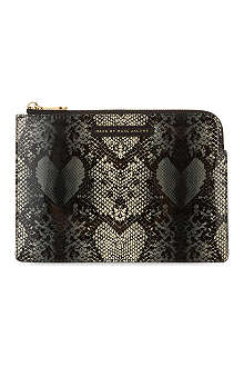 MARC BY MARC JACOBS Snake Heart mini iPad case