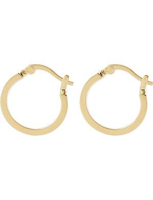 MARC BY MARC JACOBS Logo mini hoop earrings