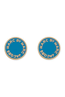 MARC BY MARC JACOBS Classic logo disc studs