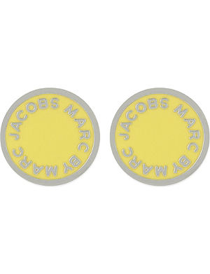 MARC BY MARC JACOBS Enamel disc earrings