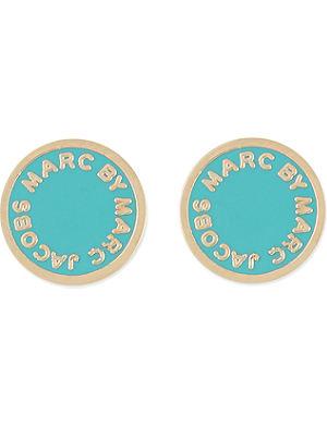 MARC BY MARC JACOBS Enamel disc earrings